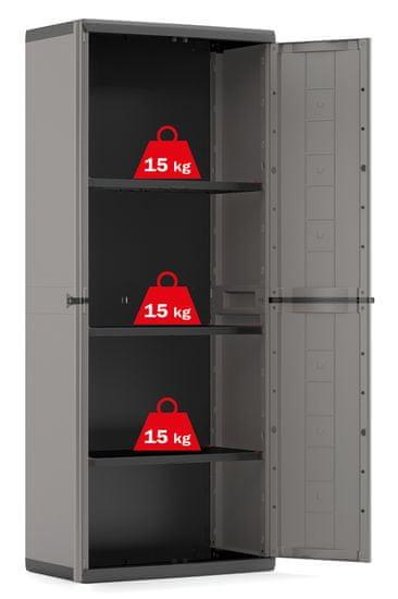 KETER JOLLY HIGH szafka, szara 9732/0444