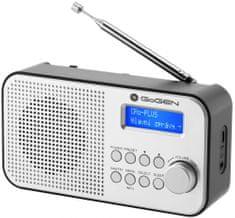 GoGEN radio DAB 300 N, czarne/srebrne