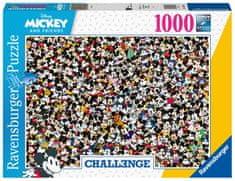 Ravensburger 167449 Challenge puzzle Disney a přátelé 1000 dílků