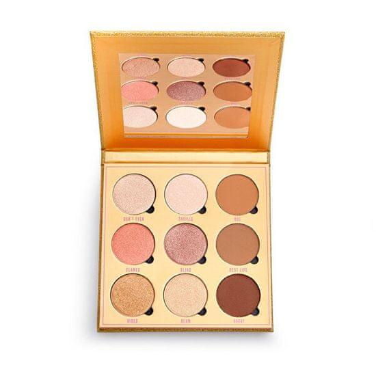 Makeup Obsession Paletka senčil za obraz Feels (Hihglight & contour Palette) 19,8 g