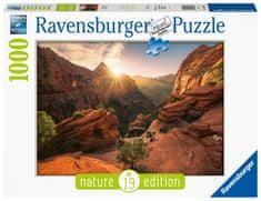 Ravensburger Puzzle 167548 Kaňon Zion, USA 1000 dílků