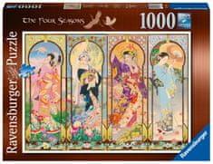 Ravensburger puzzle 167685 4 Pory Roku, 1000 elementów