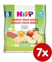 HiPP BIO Jablečné rýžové oplatky - 7x30g