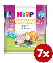 HiPP BIO Čučoriedkové ryžové oblátky - 7x30g