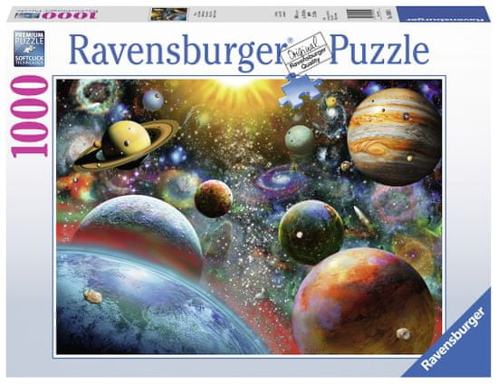 Ravensburger Puzzle 198580 Planetární vize 1000 dílků