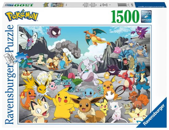 Ravensburger sestavljanka Pokémon 167845, 1500 delov