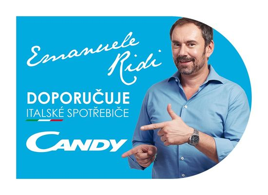 Candy mrazák CMIOUS 5144WH/N