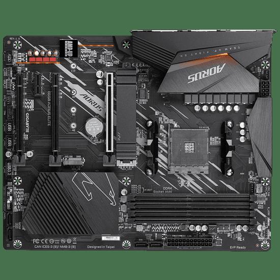 Gigabyte B550 Aorus Elite osnovna plošča, AM4, DDR4, ATX