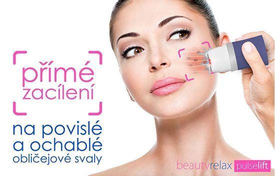 Beauty Relax Kozmetický prístroj na ochabnuté tvárové svaly Pulselift BR-1270