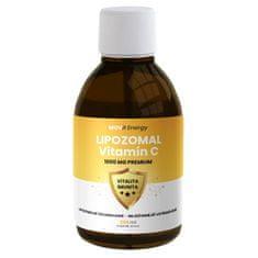 MOVit Energy Lipozomální vitamín C Premium 1000mg 250ml