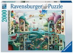 Ravensburger Puzzle 168231 - Ha a halak járni tudnának, 2000 darabos