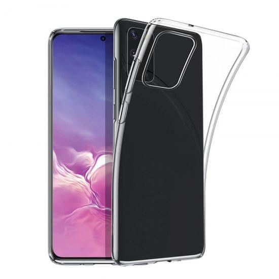 Maska za Samsung Galaxy S21, silikonska, tanka, prozirna