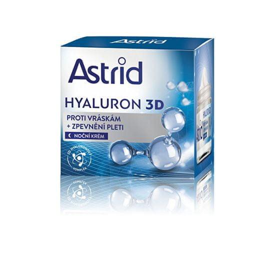 Astrid Zpevňující nočna proti gubam Hyaluron 3D 50 ml