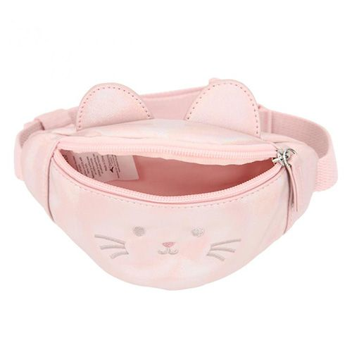 Princess Mimi Mini ledvinka , Růžově třpytivá, obličej kočičky, s oušky
