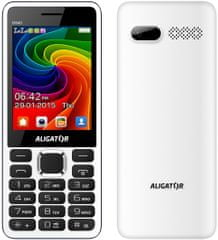Aligator D940, Dual SIM, White