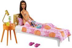 Mattel Barbie szoba és baba - Hálószoba