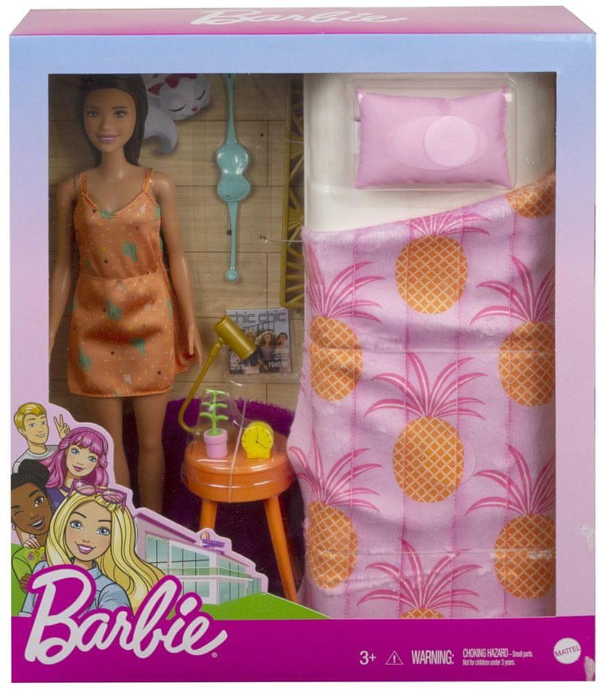 Mattel Barbie Pokoj a panenka - Ložnice
