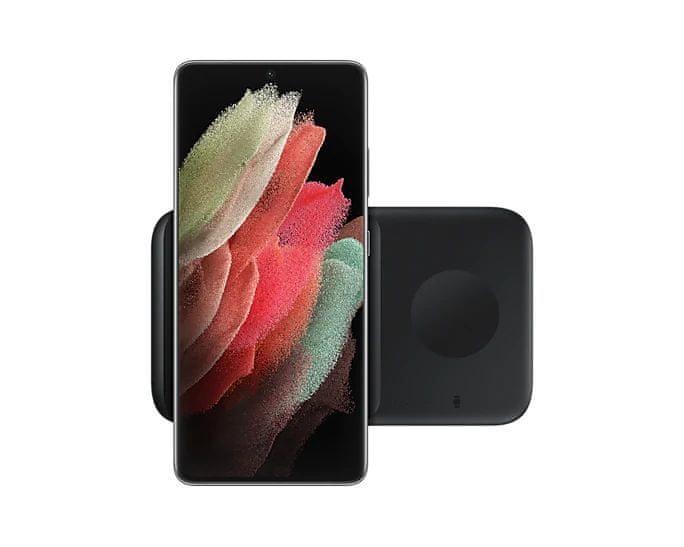 Samsung Duální bezdrátová nabíječka (EP-P4300T) EP-P4300TBEGEU