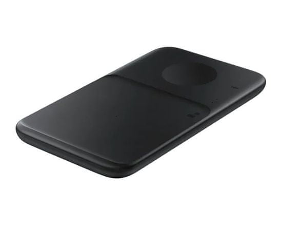 Samsung Duo brezžična polnilna postaja, črna, USB-C kabel
