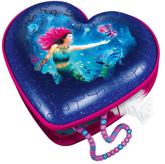 Ravensburger 3D Puzzle 112494 Srdce Mořské víly 54 dílků