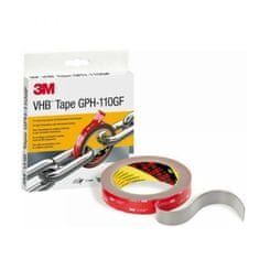 3M Obojstranná akrylová lepiaca páska VHB GPH-110G 19mm x 11m x 1,1mm