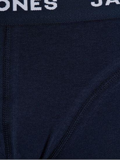 Jack&Jones 3 PAKET - moški bokserji JACANTHONY 12171946 Blue Night s
