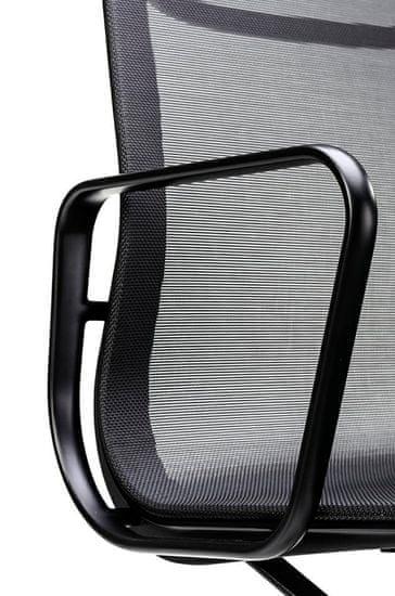 shumee Pisarniški stol BODY PRESTIGE črna - tkanina, aluminij