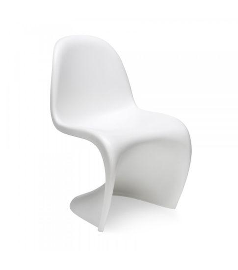 shumee Krzesło dziecięce HOVER JUNIOR białe - polipropylen