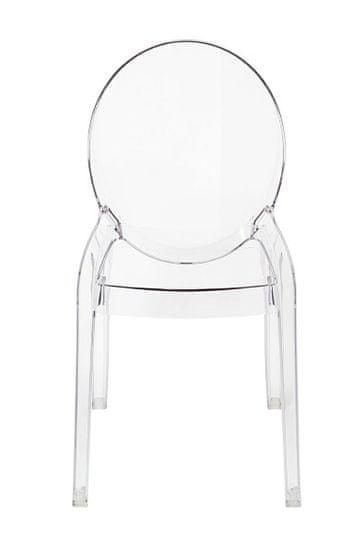 shumee Krzesło ELIZABETH transparentne - poliwęglan
