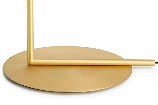 shumee Lampa podłogowa HALM FLOOR - mosiądz, szkło