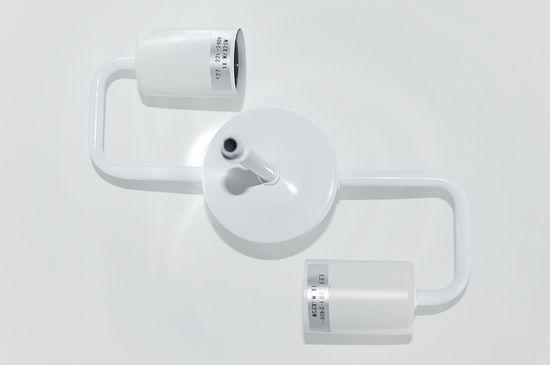 shumee Viseča svetilka BLINU 35 bela