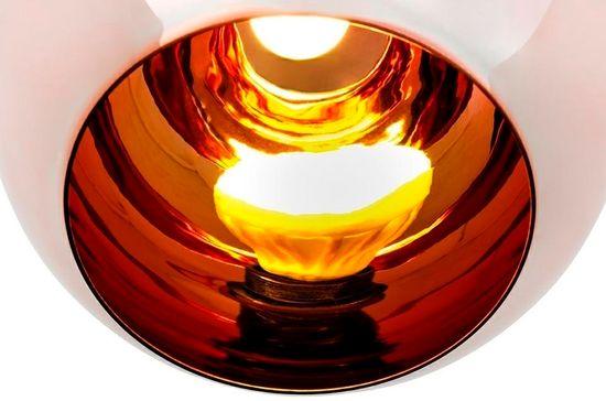 shumee Lampa wisząca BOLLA 35 miedziana - szkło metalizowane