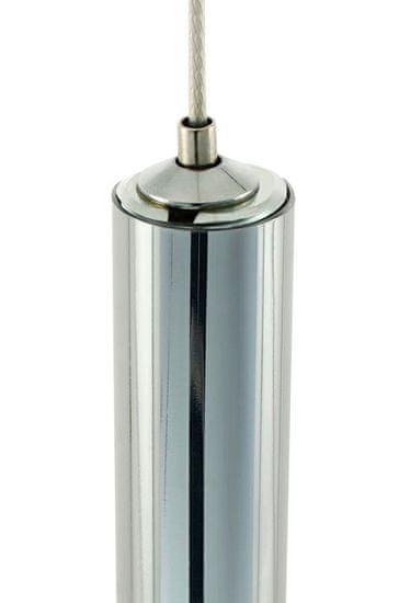 shumee Lampa wisząca ORGANO 120 chromowana - LED, metal