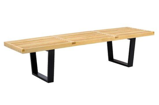 shumee Ławka FRANK - drewno jesionowe, metal