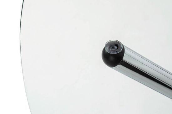 shumee Stół CONEX blat szklany - szkło hartowane, metal