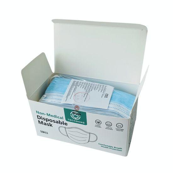 Zaščitna maska 3-slojna - 50 kosov