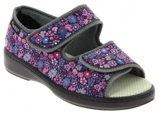 Podowell A-ARRAS zdravotní sandálek dámský vínová PodoWell Velikost: 37