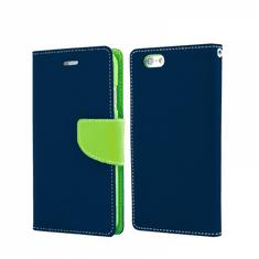 Havana Fancy Diary ovitek za Samsung Galaxy S20 FE, preklopni, modro-zelen