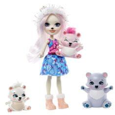 Mattel Enchantimals rodinka Pristina Polar Bear