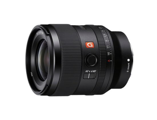SONY obiektyw 35 mm f/1,4 GM (SEL35F14GM) czarny