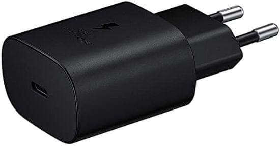 Samsung Super Fast Charge kućni punjač i podatkovni kabel (Type C - Type C), crni