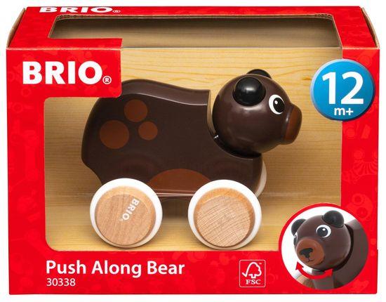 Brio 30338 zabaven medved na kolesih