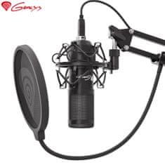Genesis Radium 400, namizni mikrofon, za gaming, streaming ali spletno komunikacijo