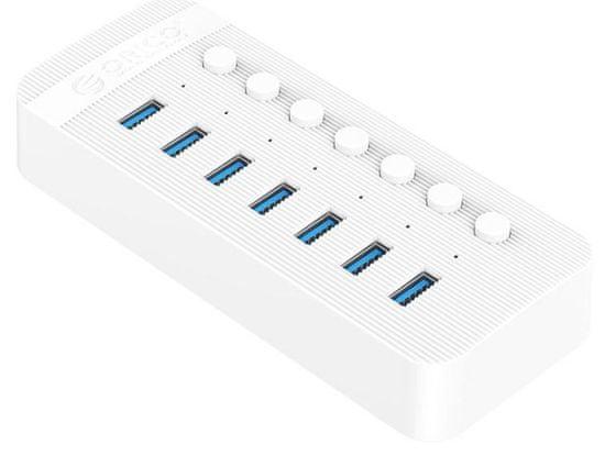 Orico CT2U3-7AB USB 3.0 vozlišče (hub), 7 vhodov