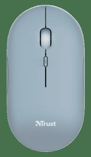 Trust mysz komputerowa Puck, niebieski (24126)