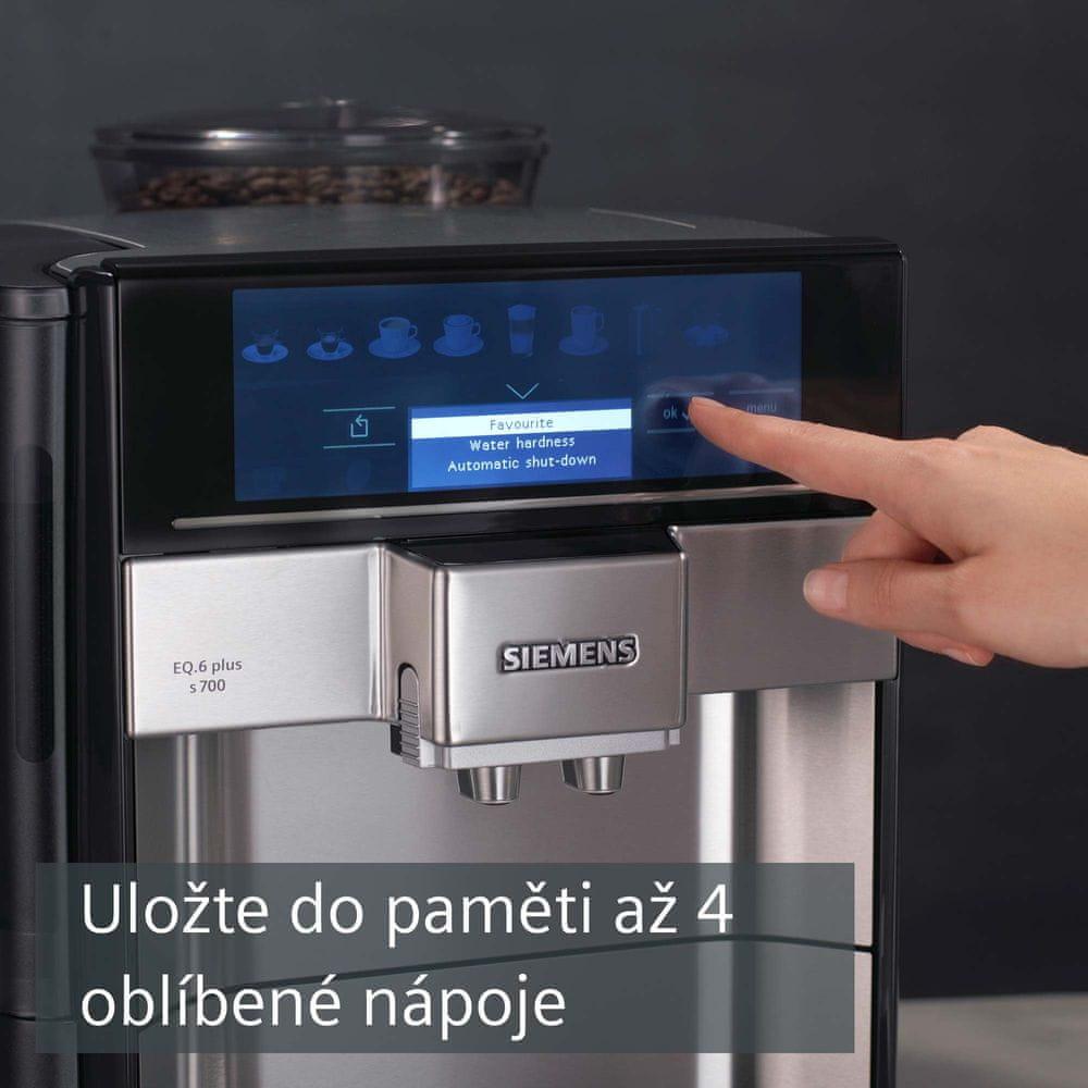 Siemens automatický kávovar TE657313RW