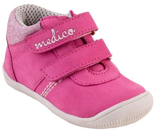 Medico EX5001/M157 dekliški usnjeni gležnjarji
