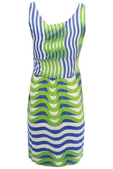 Desigual biele šaty s farebným vzorom Veľkosť: M