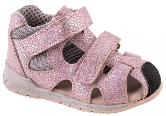 Medico dekliški usnjeni sandali EX4923/M182