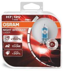 Osram Osram H7 12V 55W PX26d Night Breaker LASER +150% 2ks 64210NL-HCB OSRAM 64210NL-HCB